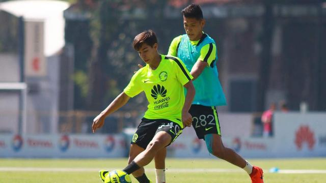 Miguel Herrera quiere ubicar a sus jóvenes canteranos.