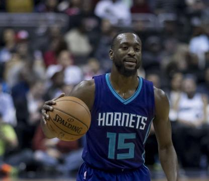 Kemba Walker playing for Hornets. - [Photo by Keith Allison Flickr.com]