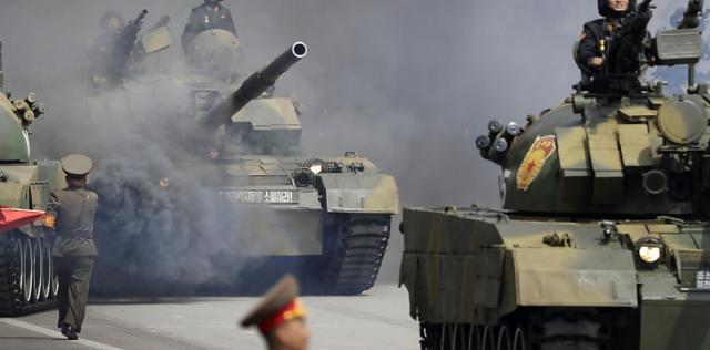 Nordkorea hält Militärparade in Pjöngjang ab   barfi.ch - barfi.ch