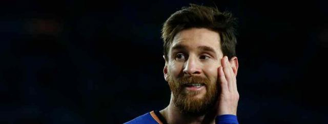 Leo Messi preocupado com a evolução do Real