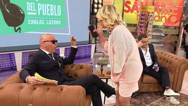 Mila ataca a Carlos y Jorge Javier ni se inmuta