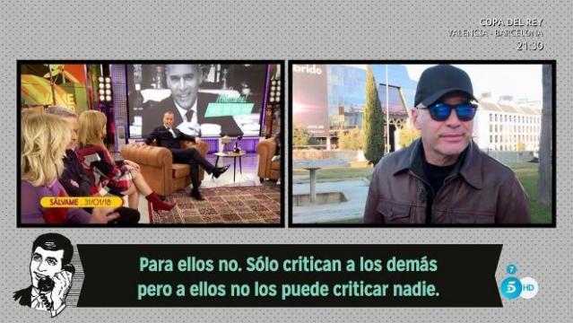 Sálvame: Carlos Lozano se defiende y las redes lo apoyan