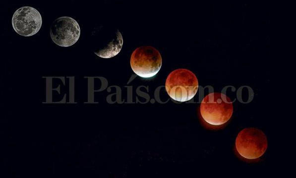 eclipse de luna roja del año se podrá apreciar en Cali - com.co