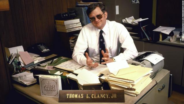 Author Tom Clancy, master of the modern-day thriller, dead at 66 - CNN - cnn.com