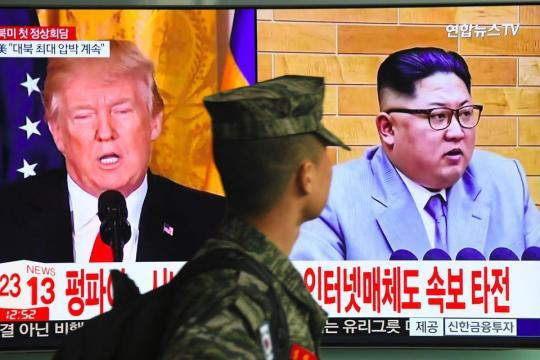 Entre Trump et Kim, les feux de l'amour en dix dates - Libération - liberation.fr