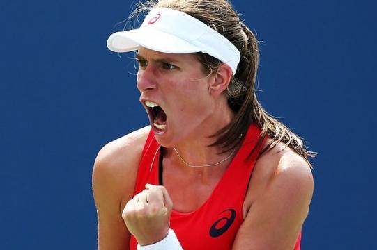 Jo Konta makes US Open history beating Garbine Muguruza in event's ... - mirror.co.uk