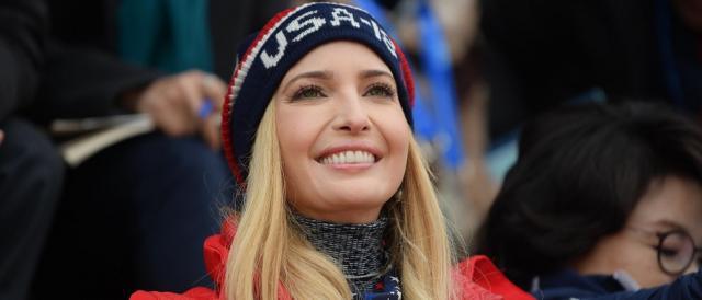 Ivanka Trump ha rappresentato il governo statunitense alla cerimonia di chiusura delle Olimpiadi invernali