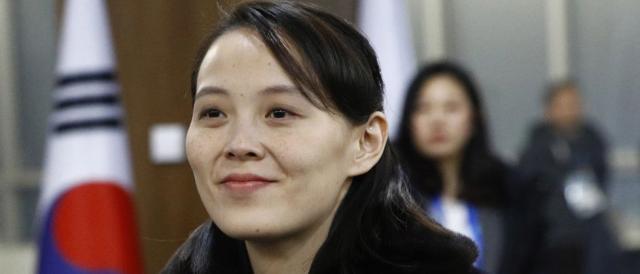 Kim Yo-jong, sorella di Kim Jong-un, protagonista assoluta della cerimonia inaugurale delle Olimpiadi invernali 2018