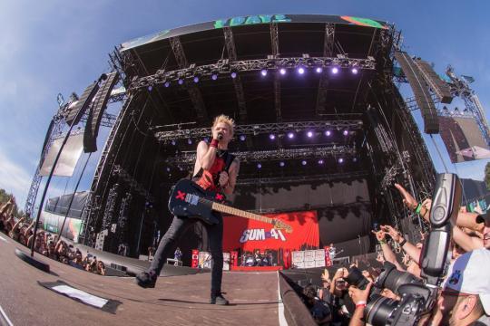 Sum 41: il ritorno della band canadese in Italia (Foto - virginradio.it).