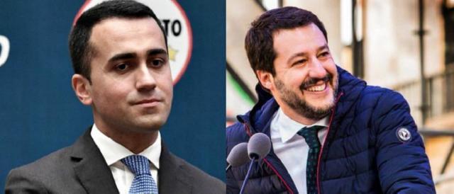 Luigi Di Maio e Matteo Salvini, vincitori alle urne senza alcuna maggioranza di governo