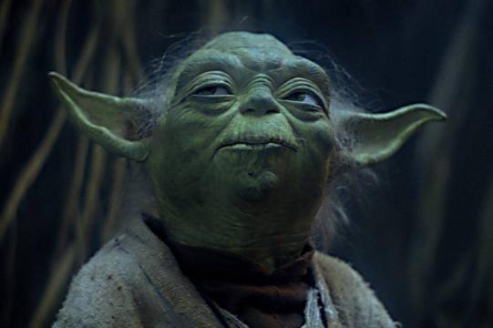 Yoda de La Guerra de las Galaxias