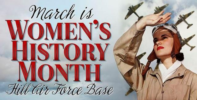 March is Women's History Month - Image credit Paul Holcomb   Wikimedia