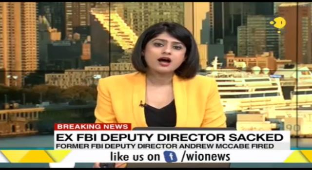 Ex FBI Dy director fired. Photo-(Image credit Wion- Youtube.com)