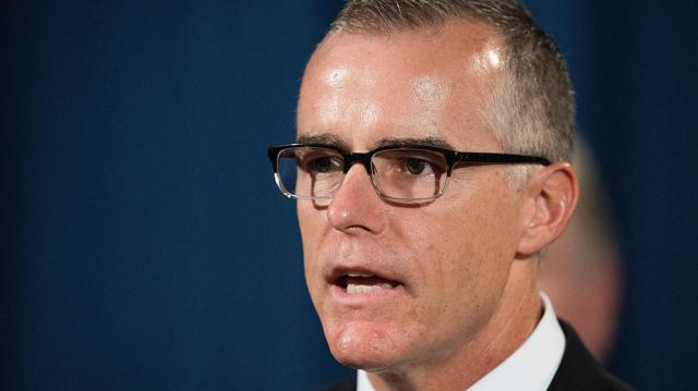 File photo of McCabe who is sacked. (Image credit-The telegraph)