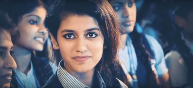 Priya Prakash Varrier — (Image via Zoom TV/ Youtube)