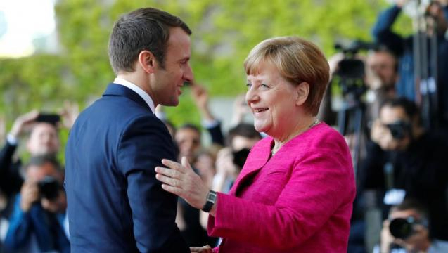 A Berlin, Emmanuel Macron soigne la relation franco-allemande ... - rfi.fr