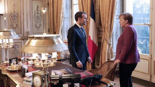 Macron et Merkel affichent leur ambitions pour l'Europe et ... - ouest-france.fr