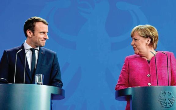Refondation européenne : pas de tabou entre Macron et Merkel - Le ... - leparisien.fr