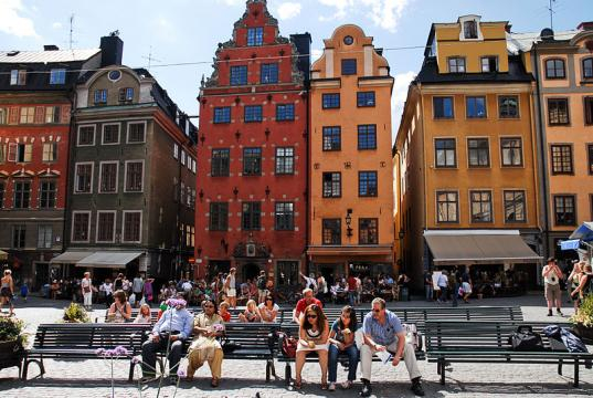 Stortorget square architecture in Stockholm, Sweden (Image credit - Mstyslav Chernov, Wikimedia Commons)