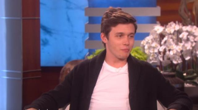 Actor Nick Robinson chatted with Ellen about his new film