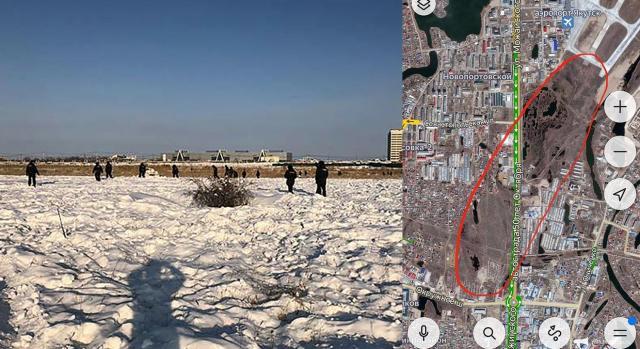 Enquanto a polícia realiza buscas, cidadãos criaram um mapa do tesouro local
