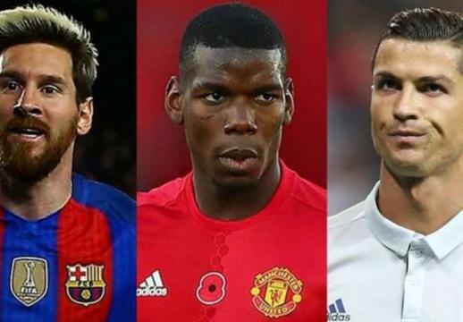 Real ou Barça : Messi et Ronaldo donnent leurs avis sur le transfert de Pogba