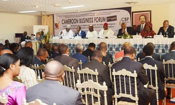 Cameroon business Forum – 23 réformes pour 2017 – COULISSES - coulisses.us