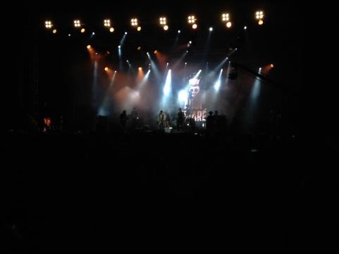 Durante varias noches la Cumbre Tajín ofreció grupos musicales para sus escenarios.