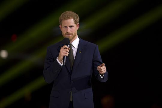 Prince Harry at the 2017 Invictus Games. - [Image credit - EJ Hersom, Wikimedia Commons]