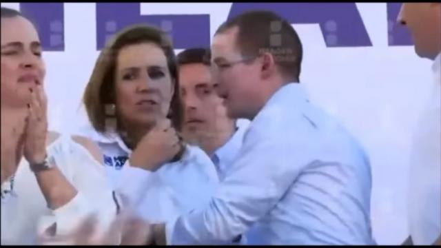 Ricardo Anaya, Margarita Zavala y Moreno Valle discuten en un ... - mientrastantoenmexico.mx