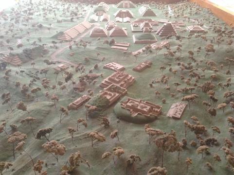 Una mirada desde el cielo a la antigua ciudad Mesoamericana que existió de 600 AC a 1200 DC