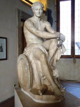 Ares Ludovisi, escultura. Museo Nazionale Romano del Palazzo Altemps, en Roma