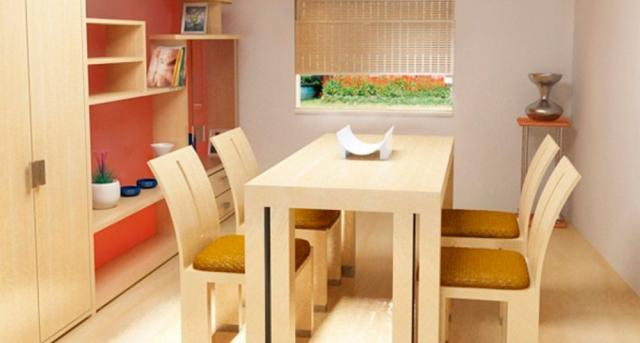 Claves para crear un salón comedor pequeño - decosalones.com