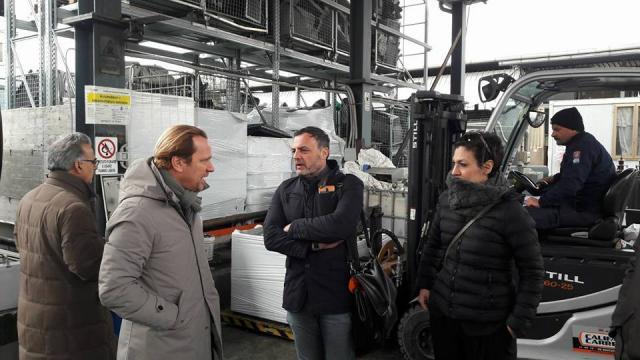 Durante la campagna elettorale per le Nazionali, De Toma ha incontrato imprenditori e commercianti.