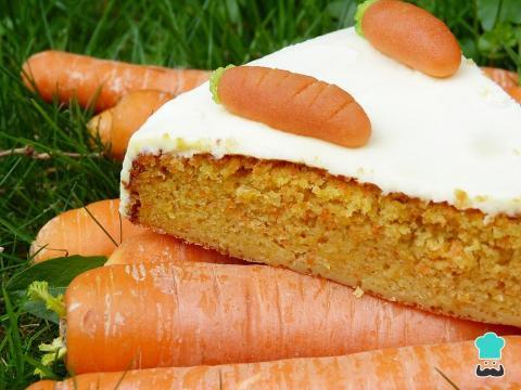 Receta de Torta de zanahoria casera - RecetasGratis.net - recetasgratis.net