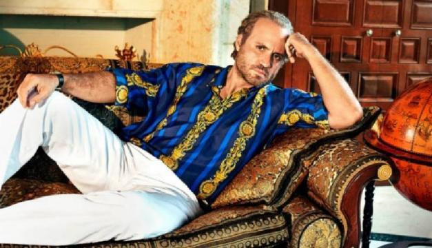 Édgar Ramírez representa a Gianni Versace