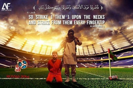 La dernière menace de l'EI contre Messi et la Coupe du monde