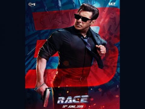 Salman Khan unveils 'Race 3' first poster (Image Credit: Salman Khan/Twitter)