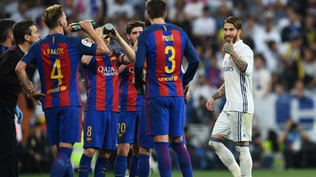 Après le Clasico, Sergio Ramos et Gerard Piqué se sont encore ... - eurosport.fr