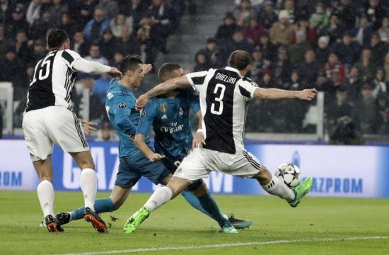 Cristiano de punterazo colocado, puso el 1-0 al minuto 3. Mundo Deportivo.com.