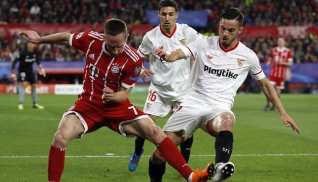 El Bayern no tuvo su juego más brillante, pero Ribery fue el que más brilló en el partido por los bávaros. Depor.com.