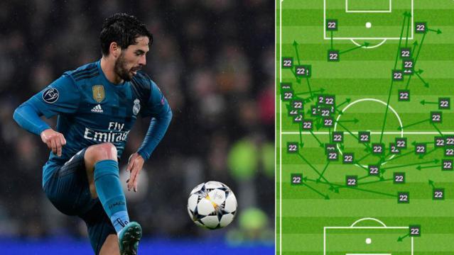 Isco jugó un gran partido y él que llevo los hilos del Madrid; Zidane optó bien por él en lugar de Bale. MARCA.com.
