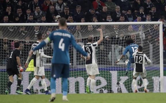 Marcelo marcó el 3-0 que sentencia la eliminatoria; la vuelta en el Bernabéu un mero trámite. MundoDeportivo.com.