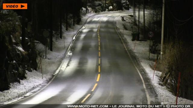 Sécurité routière - En Norvège, l'intensité de l'éclairage des ... - moto-net.com