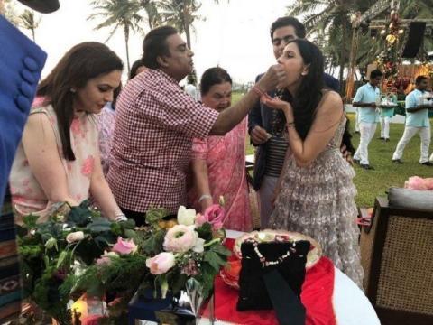 Akash Ambani Gets Engaged to Shloka Mehta,. (Image Credit: Sloka Mehta/Instagram)