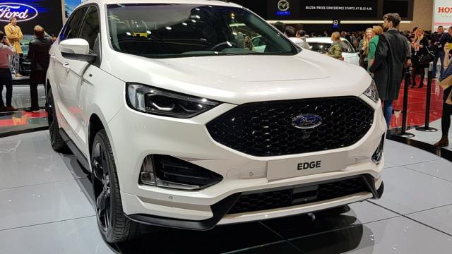 O Ford Edge ficou mais discreto