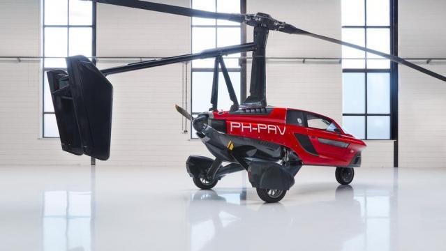 O Pal-V Liberty é uma espécie de helicóptero
