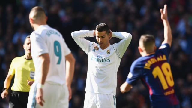 VIDEO - Real-Barça : l'improbable loupé de Cristiano Ronaldo ... - eurosport.fr