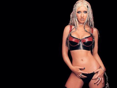 Christina Aguilera con su imagen mas atrevida en el momento de su álbum Stripped y su single Dirrty (Flikr)