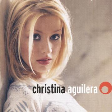 Portada del álbum de debut de Christina Aguilera donde aún aparece con un aspecto entre inocente y chewing gum (Flickr)